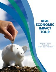 real economic impact tour outcomes - National Disability Institute