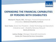 expanding the financial capabilities of persons with disabilities
