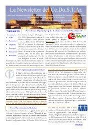 Newsletter n 54 - Cedostar