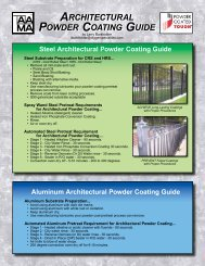 architectural powder coating guide architectural powder coating guide