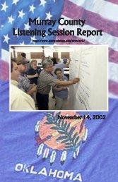 Adair Listening Session - Oklahoma State University