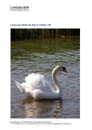 Luxus pur direkt am See in Lachen / SZ - Lindauer-Immobilien