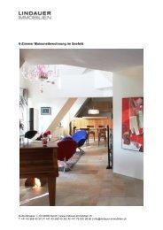 6-Zimmer Maisonettewohnung im Seefeld - Lindauer-Immobilien