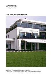 Purer Luxus am Vierwaldstättersee - Lindauer-Immobilien