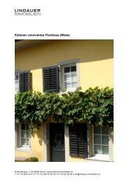 Exklusiv renoviertes Flarzhaus (Miete) - Lindauer-Immobilien