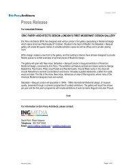 EPA Press Release- Sebastian+Barquet final - Eric Parry Architects