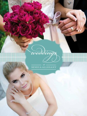 View Wedding Menu - Seneca Allegany Casino & Hotel