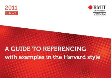 Guide to Referencing - RMIT University