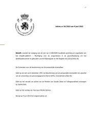 Voorstel tot wijziging van de wet van 21/08/2008 houdende ...