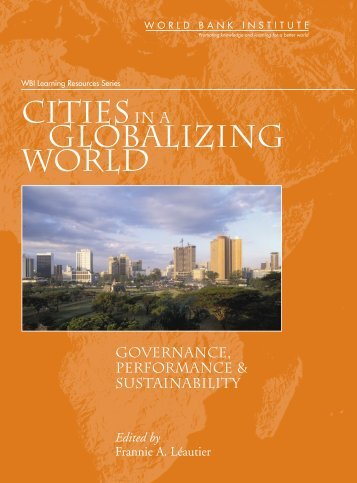 Cities in a Globalizing World - ISBN: 821365533 - Redeco