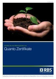 Quanto Zertifikate - Zertifikatereport.de