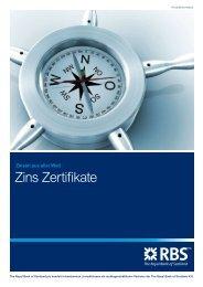 Zins Zertifikate - Aktien