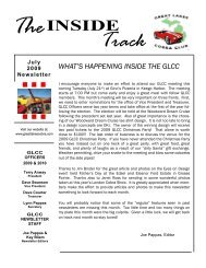 July 2009 Newsletter - Great Lakes Cobra Club