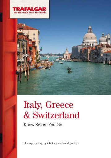 Italy, Greece & Switzerland - Global Journeys