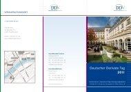 zum Programm - Deutscher Derivate Verband