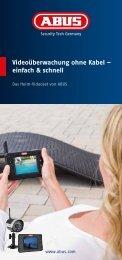 Videoüberwachung ohne Kabel – einfach & schnell