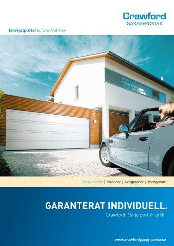 GARANTERAT INDIVIDUELL. - Crawford Garageportar