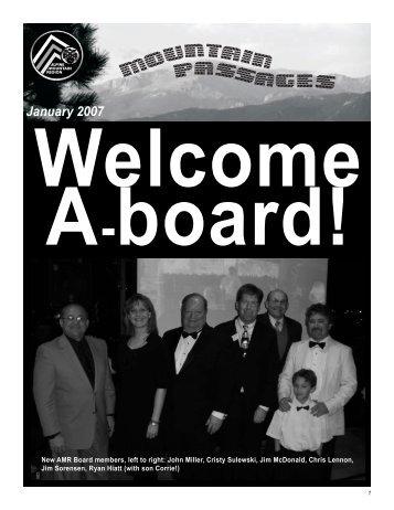 January 2007 - AMR Porsche Club