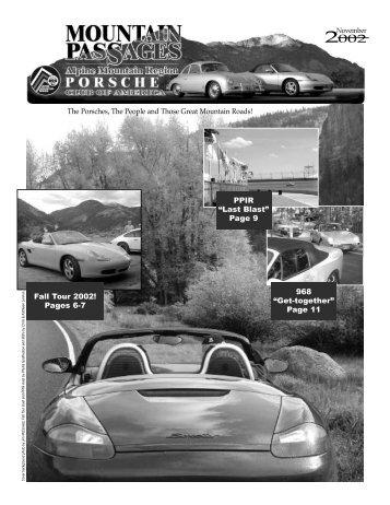 November - AMR Porsche Club