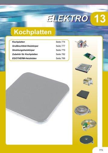 Kochplatten