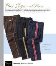 Pant Stripes and Hems - VF Imagewear