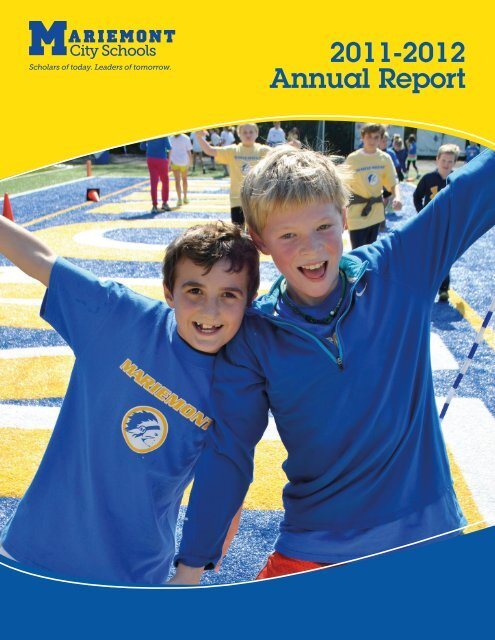 Annual Report 2011-2012 - Mariemont City Schools