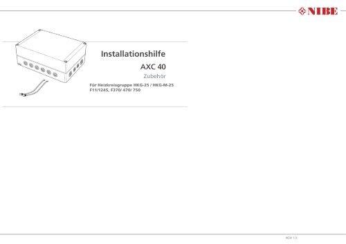 Installationshilfe - Nibe
