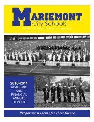 District Annual Report - Mariemont City Schools