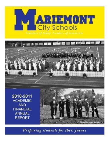 District Annual Report - Mariemont City Schools