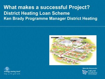 District heating loans scheme - Wood Energy Scotland