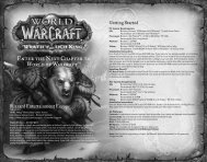 Enter the Next Chapter to World of Warcraft®! - Blizzard Entertainment