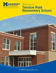 Terrace Park Elementary School program - Mariemont City Schools