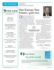 August - Pee Dee Electric Cooperative