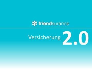 Versicherung 2.0 - Marketing on Tour