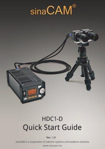 Quickstart Guide sinaCAM - PURE4C
