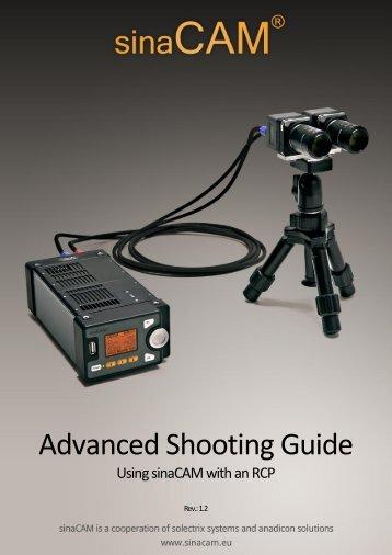 Advanced Shooting Guide - sinaCAM