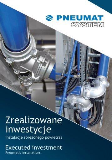 Zrealizowane inwestycje - Pneumat System