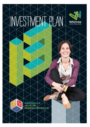 INVESTMENT PLAN 2013-2015 - Whitireia Community Polytechnic