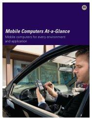 Mobile Computers At A Glance - Denali Advanced Integration