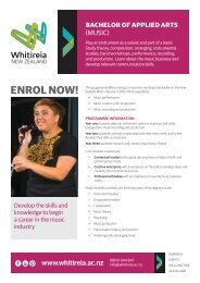 Download - Whitireia Community Polytechnic