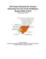 The Future Demand for Tertiary Education Services in the ...