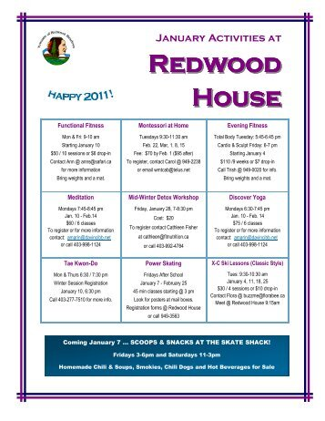 Redwood House - Townsite of Redwood Meadows