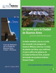 Un techo para la Ciudad de Buenos Aires por el arquitecto Carlos Sánchez Saravia
