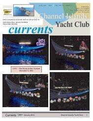 January 2013 - Channel Island Yacht Club