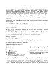 Beach Private Event Use Policy All private events ... - City of Coronado