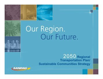 2050 Regional Transportation Plan/ Sustainable Communities ...
