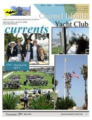 May 2013 - Channel Island Yacht Club