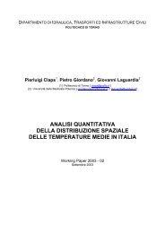 esempio1 - idrologia@polito - Politecnico di Torino