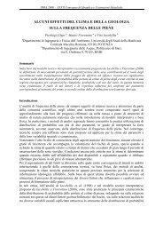 IDRA 2000 XXVII Convegno di Idraulica e ... - idrologia@polito