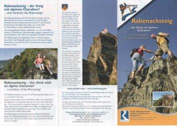 Rabenacksteig — der Steig - Gemeinde Nochern